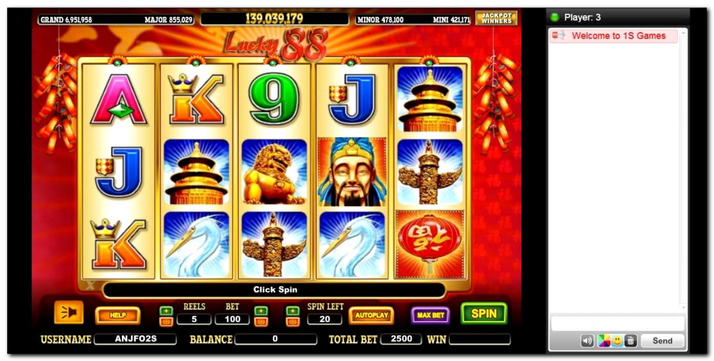 Casino Luckでの590%のカジノマッチボーナス