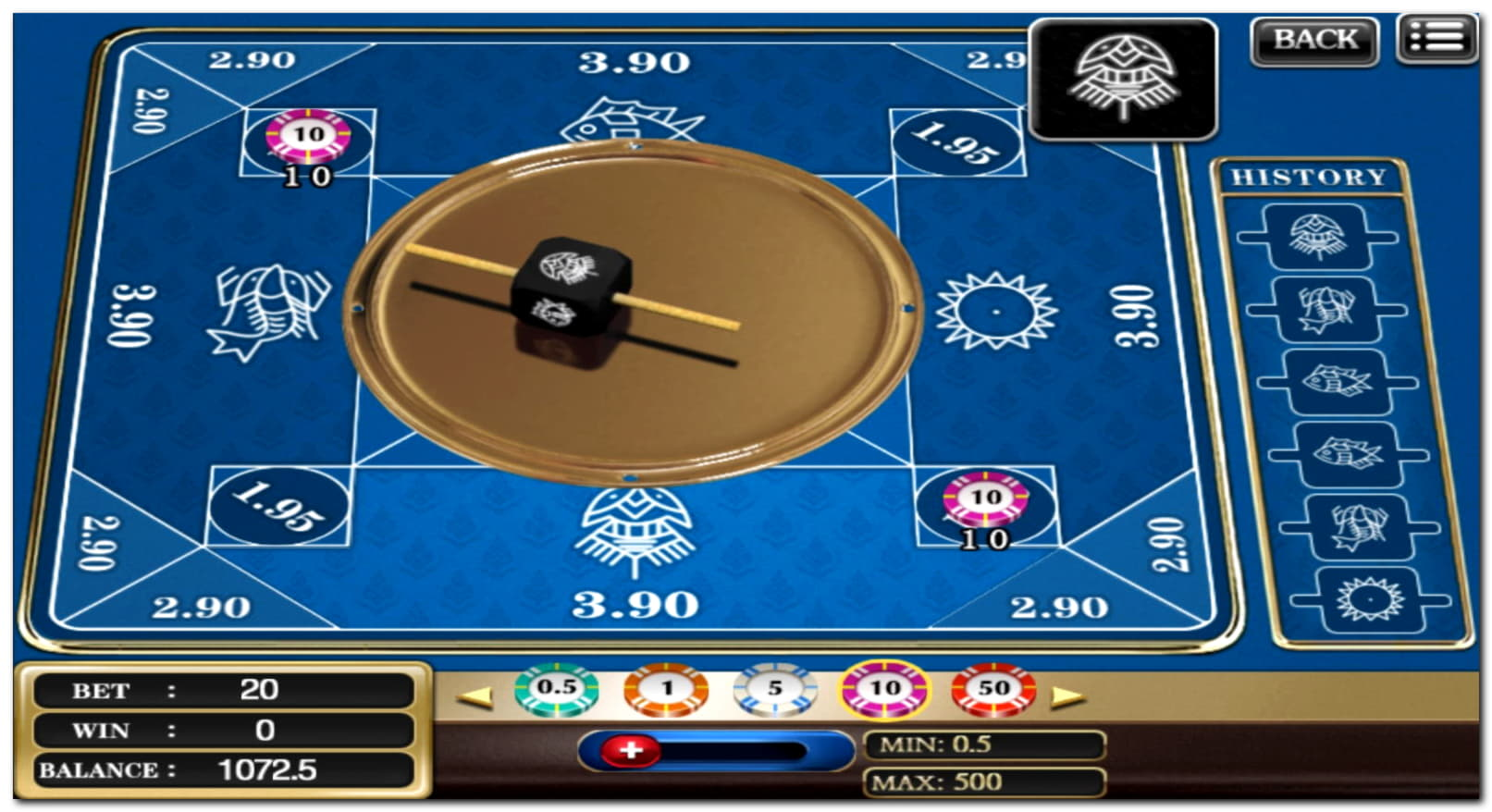 ベットオンラインカジノでの100フリースピン