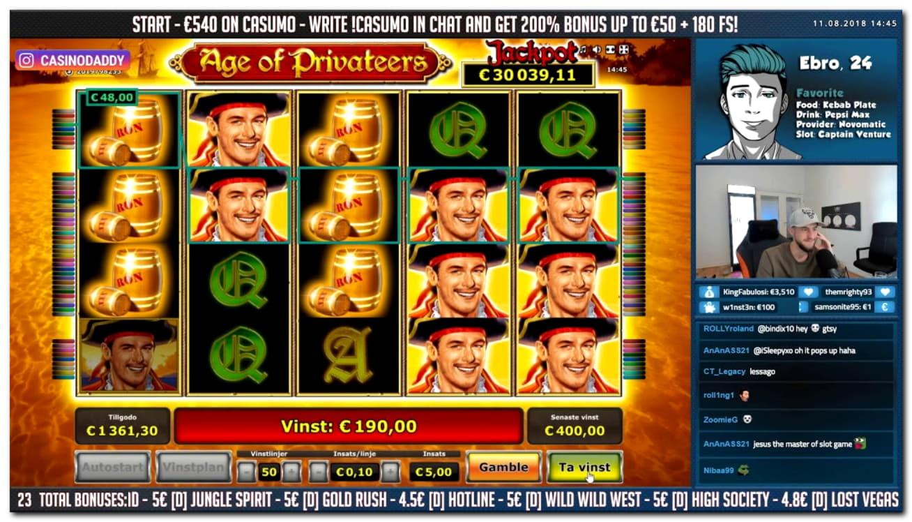Alf Casinoでの790%カジノマッチボーナス