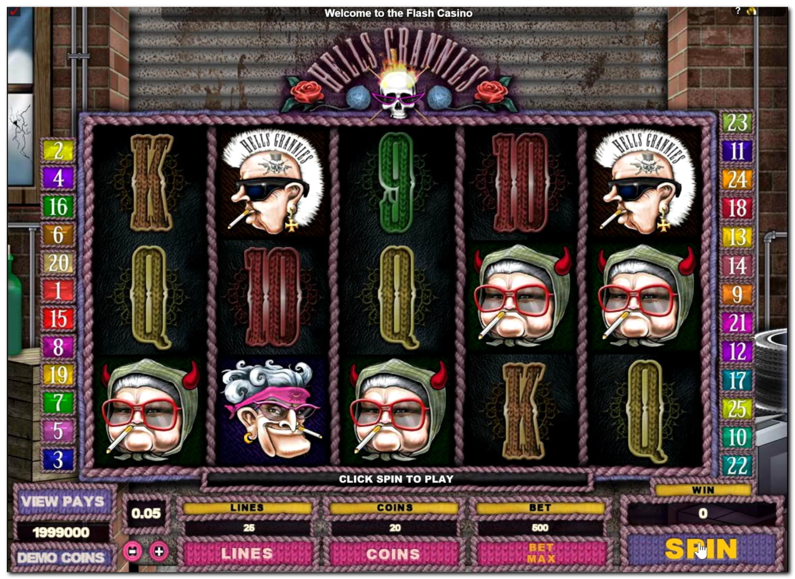 $1580 no deposit bonus casino at Spin Palace Casino