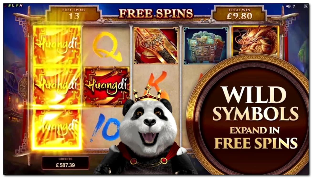 950% Deposit Match Bonus at Casino Luck