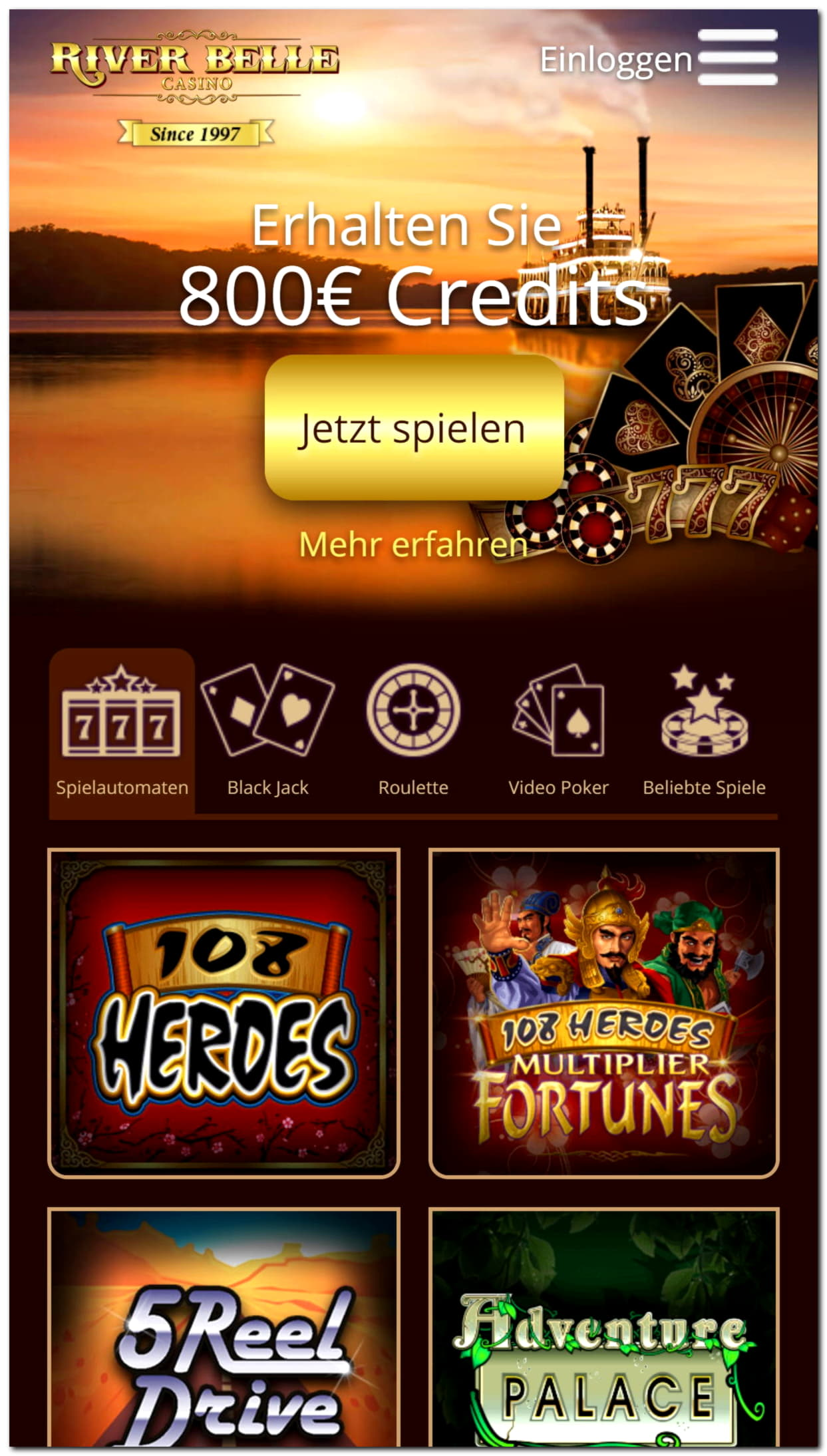 €640 Bet At Home Casinoの無料カジノチップ