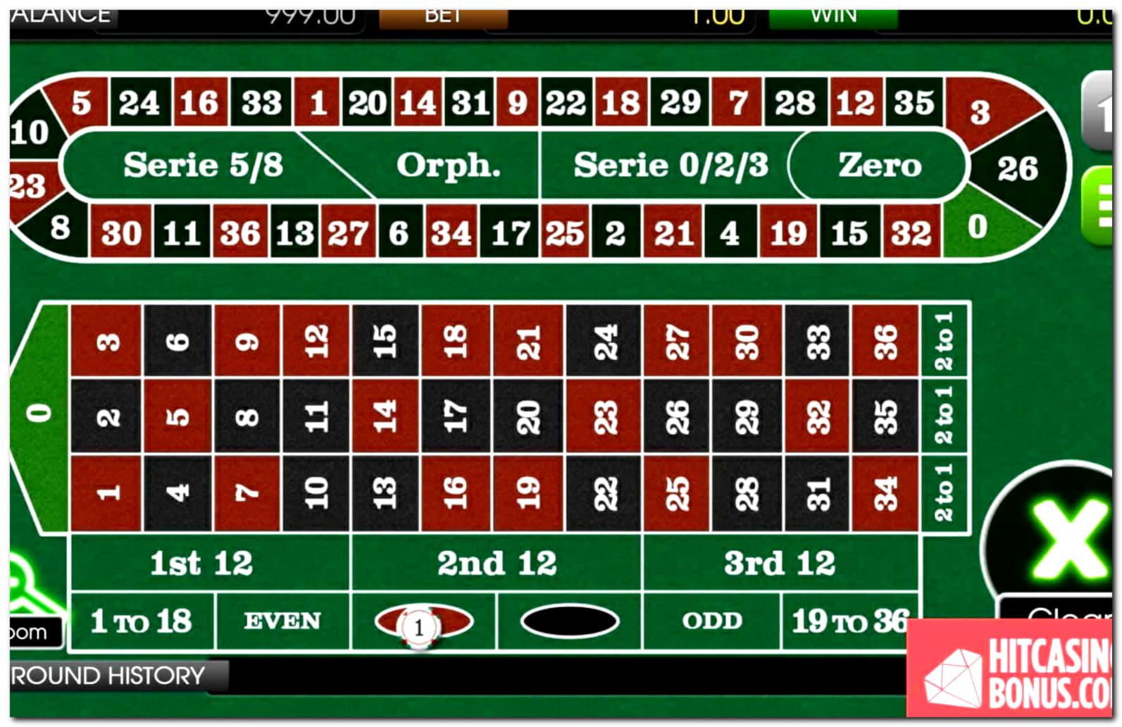 €580 Casino chip at Slots Billion Casino