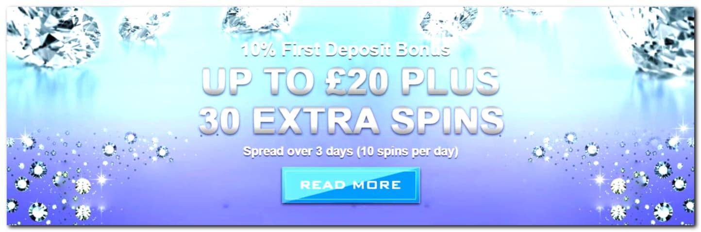 280 Free spins casino at BGO Casino