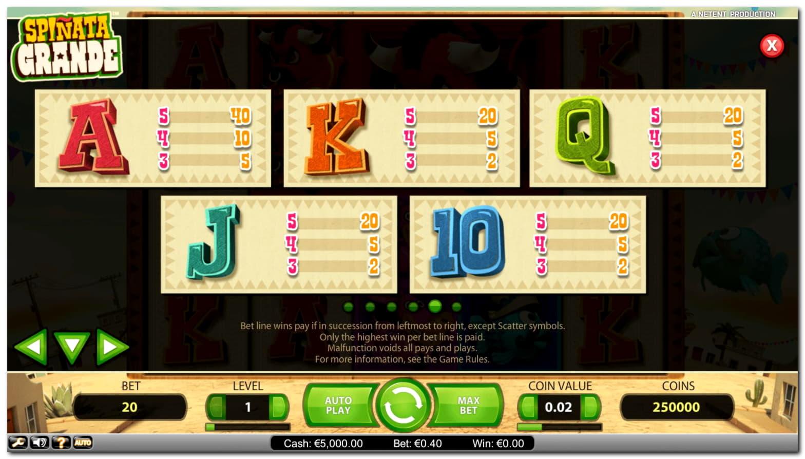 Europa Casinoの$ 115無料カジノチップ