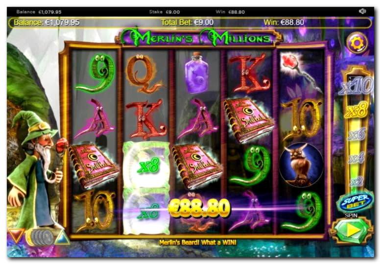 BGOカジノのカジノで965%の試合