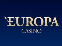 680% Casino match bonus at Europa Casino
