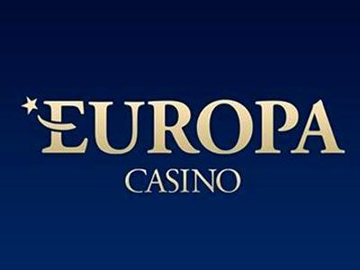 Europa Casino skærmbillede