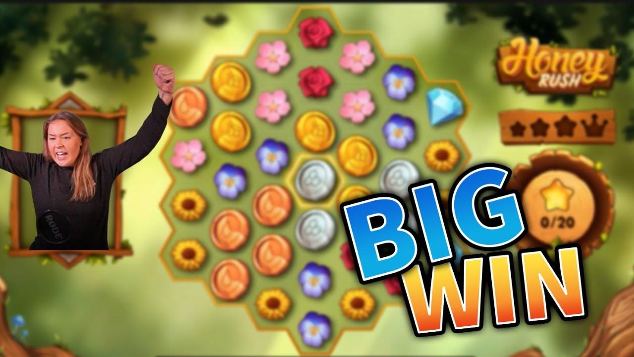Honey Rush Big Win